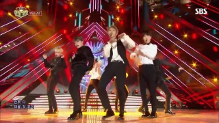 Fire (Inkigayo 30.10.2016) - BTS
