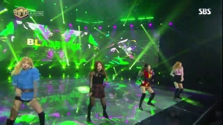 Playing With Fire (Inkigayo 13.11.2016) - Black Pink
