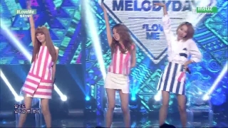 Love Me (Inkigayo 12.07.15) - Melody Day