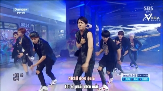 Danger (Inkigayo 31.08.14) (Vietsub) - BTS