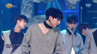 Never Ever (Inkigayo 02.04.2017) - GOT7