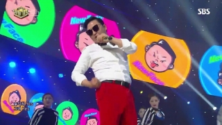 New Face - I Luv It (Inkigayo 21.05.2017) - PSY