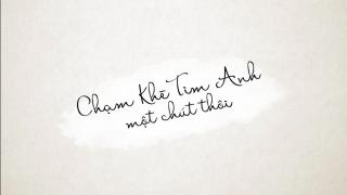 Chạm Khẽ Tim Anh Một Chút Thôi (Lyrics Ver) - Noo Phước Thịnh