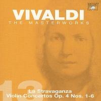 La Stravaganza Violin Concertos Op 4 Nos 1-6 - Antonio Vivaldi