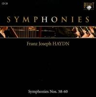 Symphonies Nos. 58-60 - Joseph Haydn