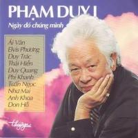 Ngày Đó Chúng Mình - Phạm Duy 1 - Various Artists