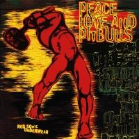 Red Sonic Underwear - Peace Love & Pitbulls