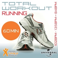 Total Workout Running 102 - 135 - 84bpm Ideal For Jogging, Running, Treadmill & General Fitness - Various Artists