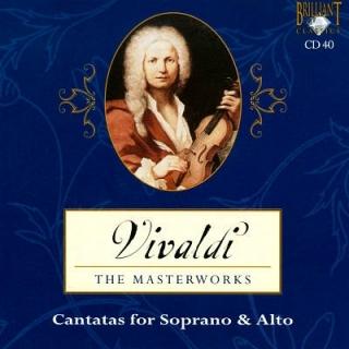 Cantatas For Soprano & Alto 2 - Antonio Vivaldi