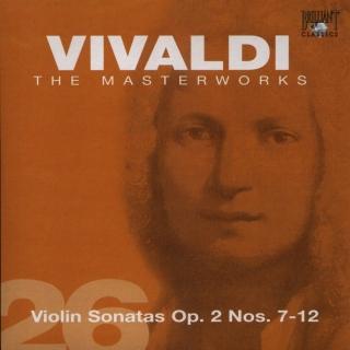 Violin Sonatas Op 2 Nos 7-12 - Antonio Vivaldi