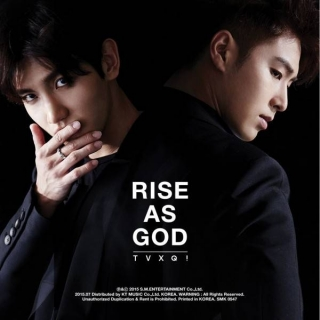 Rise As God (Special Album) - TVXQ