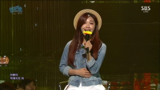 Hopefully Sky (Inkigayo 08.05.2016) - Eun Ji (Apink)