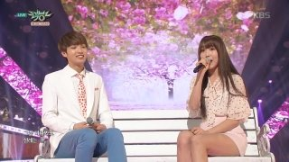 Cherish (Music Bank 25.03.16) - Yuju (G-Friend), Sunyoul (UP10TION)
