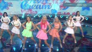 I'm Jelly Baby (Inkigayo 28.02.16) - AOA Cream
