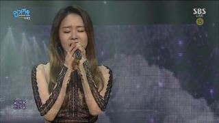 Beautiful Lady (Inkigayo 10.01.16) - Lee Ye Joon