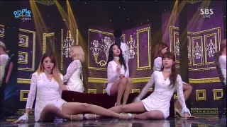 Sleepless Night (Inkigayo 13.12.15) - 9Muses