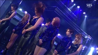 Brave New World (Inkigayo 15.11.15) - Brown Eyed Girls
