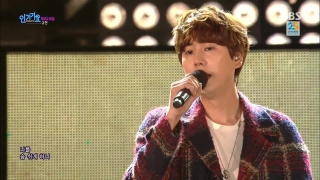 A Million Pieces (Inkigayo 01.11.15) - Kyu Hyun (Super Junior)