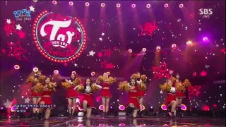 Like OOH-AHH (Inkigayo 10.01.16) - Twice