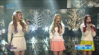 Gently (Inkigayo 10.01.16) - Dal Shabet