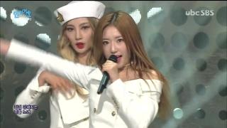 Severely (Inkigayo 28.02.16) - 4TEN