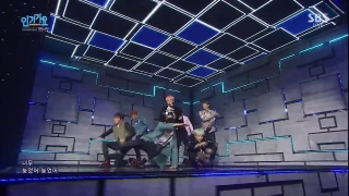 Run (Inkigayo 06.12.15) - BTS