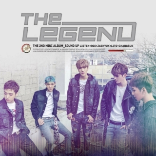 Sound Up (2nd Mini Album) - The Legend