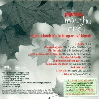 Mùa Thu Chết - Phạm Duy - Various Artists