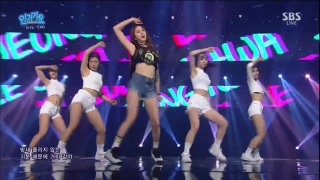 L.I.E (Inkigayo 12.06.2016) - EXID