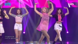 I'm Gonna Be A Star (Inkigayo 12.06.2016) - Twice
