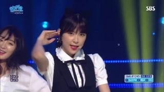 Lip 2 Lip (Inkigayo 04.09.2016) - 9Muses