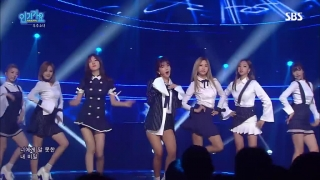 Secret (Inkigayo 04.09.2016) - WJSN (Cosmic Girls)