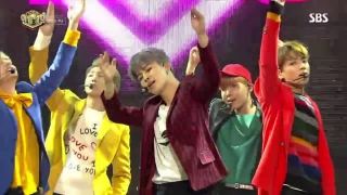 Am I Wrong (Inkigayo 16.10.2016) - BTS
