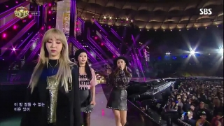 New York (Inkigayo 30.10.2016) - Mamamoo
