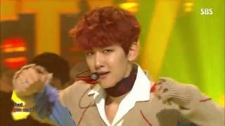 Hey Mama! (Inkigayo 13.11.2016) - EXO-CBX