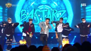 Make It Rain (Inkigayo 13.11.2016) - Block B, Bastarz