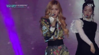 Whistle + Playing With Fire (SBS Gayo Daejun 2016) - Black Pink