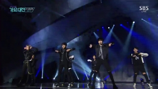 Hard Carry (SBS Gayo Daejun 2016) - GOT7
