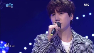 A Million Pieces (Inkigayo 25.10.15) - Kyu Hyun (Super Junior)