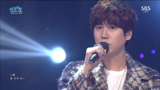 A Million Pieces (Inkigayo 18.10.15) - Kyu Hyun (Super Junior)