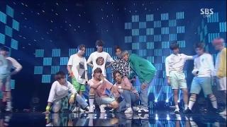 Adore U (Inkigayo 12.07.15) - Seventeen