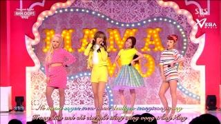 Ahh Oop (Inkigayo 05.04.15) (Vietsub) - Mamamoo