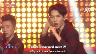 Awaken (Inkigayo 14.06.15) (Vietsub) - Timez