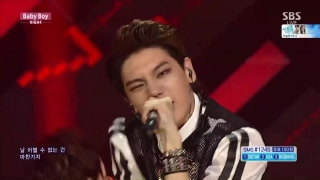 Baby Boy (Inkigayo 05.07.15) - High4