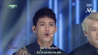 Bing Bing Bing (Inkigayo 31.08.14) (Vietsub)  - JJCC
