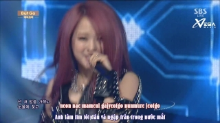 But Go (Inkigayo 07.09.14) (Vietsub) - A.Kor
