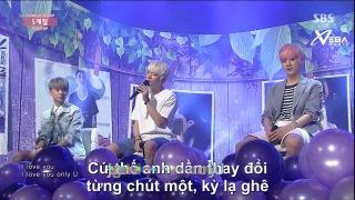 5 Seasons - Ah Ah (Inkigayo 28.06.15) (Vietsub) - TEEN TOP