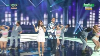 Cool Night (Music Bank 03.07.15) - Song Ji Eun, Sleepy