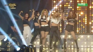 Crazy (Music Bank 26.06.15) - 4Minute
