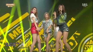 Love Me (Inkigayo 05.07.15) - Melody Day